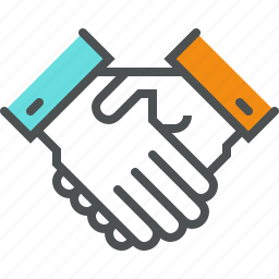 agreement, business, collaboration, deal, greeting, hand shake, teamwork, trust icon