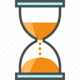clock, hour, hourglass, management, sand, sandclock, time icon