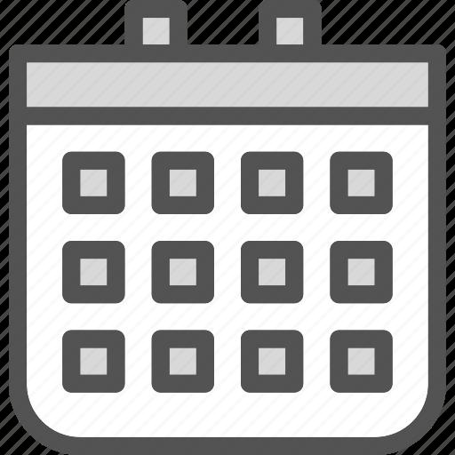 calendar, day, program, schedule, year icon