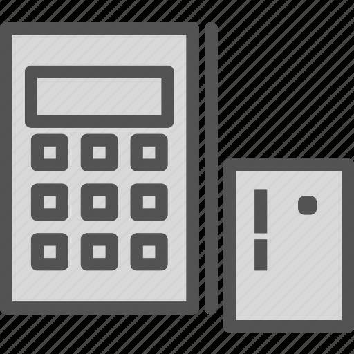 cancelice, desk, math, off, stop, workspacecalculator icon