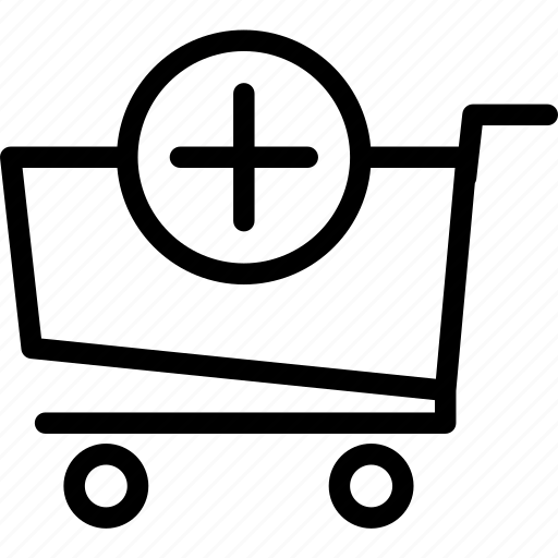 buy, cart, plus, purchase icon