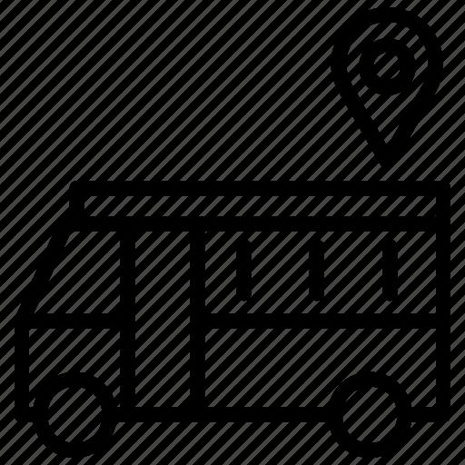 advertisement, announcement, bus ad, discount, marketing, promotion, sale icon