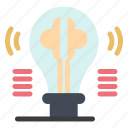 brain, bulb, content, idea, imagination
