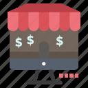 marketing, online, shop