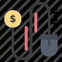 dollar, marketing, mouse
