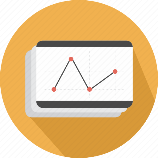 benefits, diagram, graph, graphics, line, statistics, stats icon
