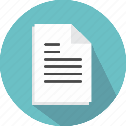 business, contract, document, paper, signing icon