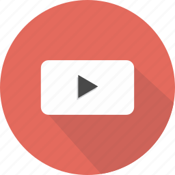 control, play, video, youtube icon