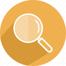 detective, glass, magnifying, search, zoom icon