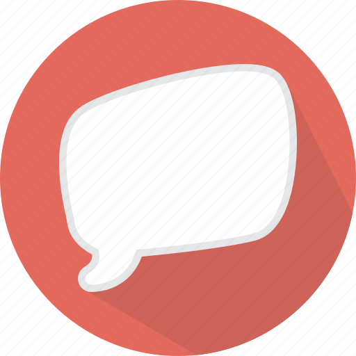 bubble, chat, comic, message, speech icon
