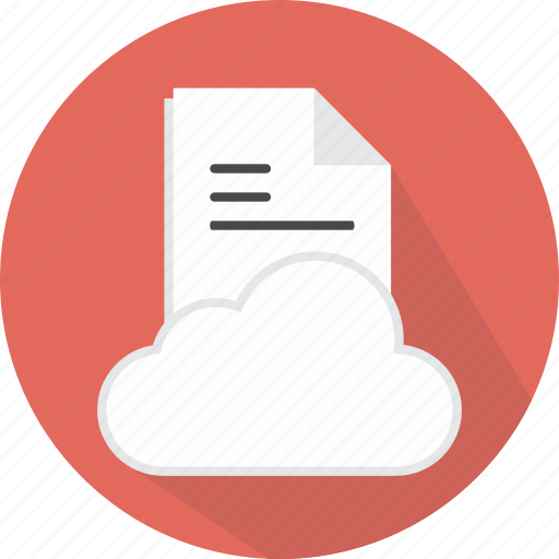 cloud, data, document, file, multimedia, storage, upload icon
