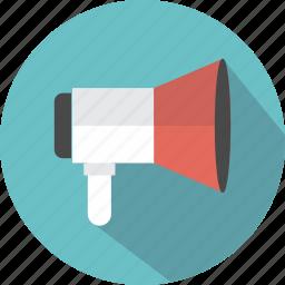 audio, interface, megaphone, speaker, tool icon