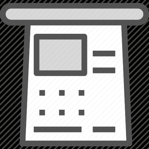 meeting, presentation, whiteboard icon