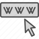 internet, web, wide, world, www icon