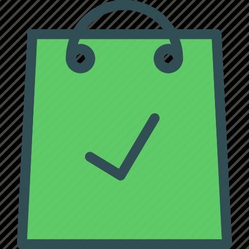 bag, buy, cart, checkok, purchase, shopping icon