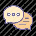 bubble, speech, chat, speak, talk, communication