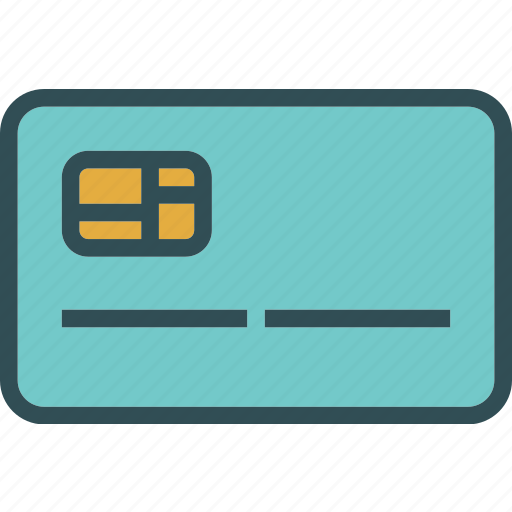access, bank, card, chip, pin icon