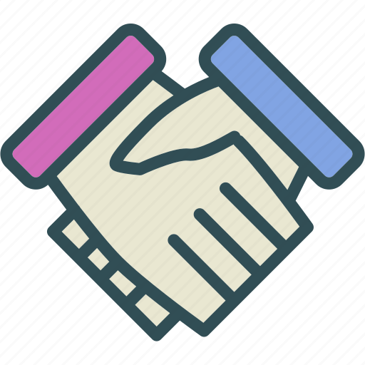 agreement, business, deal, hand, shake icon