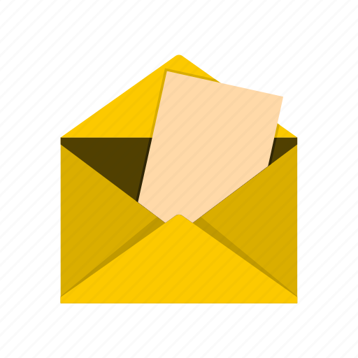 address, communication, envelope, internet, letter, mail, message icon