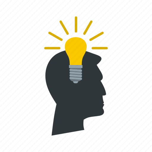 bulb, electricity, energy, idea, inspiration, light, power icon