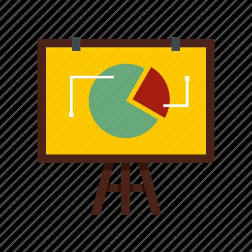 business, chart, flip, graph, info, statistics, template icon
