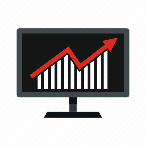 business, chart, graph, info, monitor, statistics, template icon
