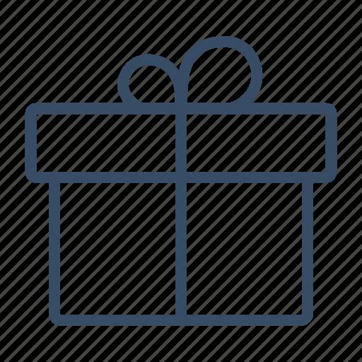 bonus, box, gift, marketing, parcel, present icon