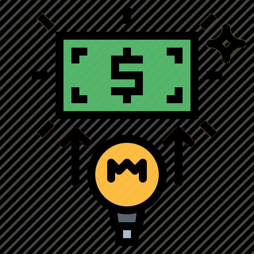 business, marketing, money icon