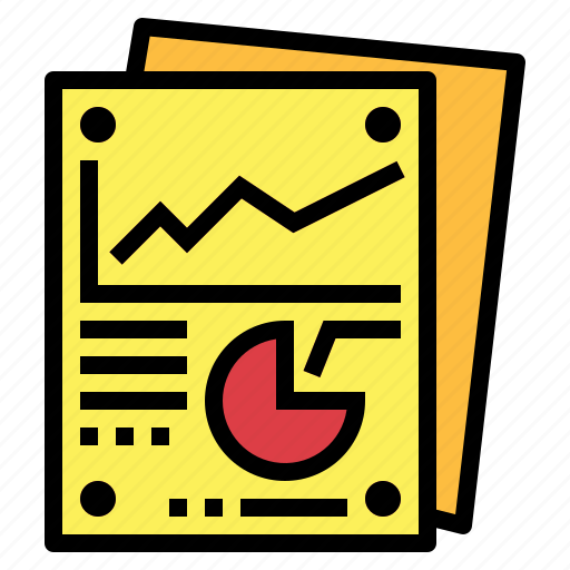 business, marketing, report icon