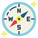 compass, maps, navigation icon