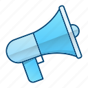 advertisement, announcement, marketing, megaphone icon