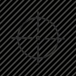 cross hairs, focus, gun, on target, sniper, sniper cross hairs, target icon