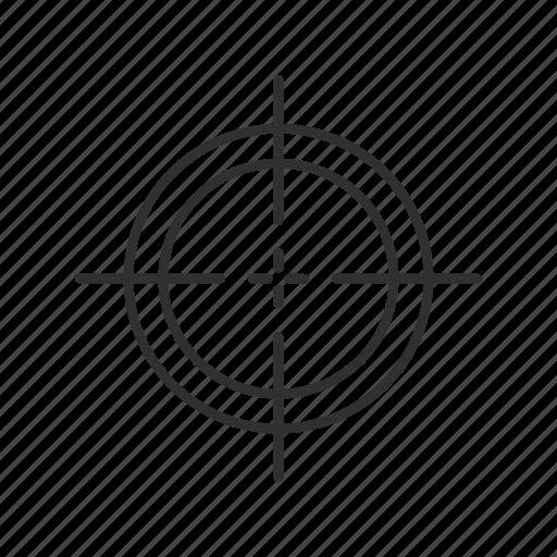 cross hairs, focus, sight, sniper, sniper cross hairs, sniper focus, target icon