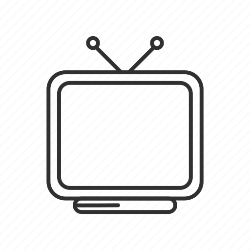 alien, antennas, old television, old tv, television, television with antennas, tv icon