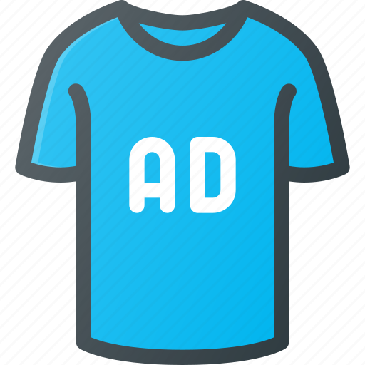 ad, advertising, clothing icon