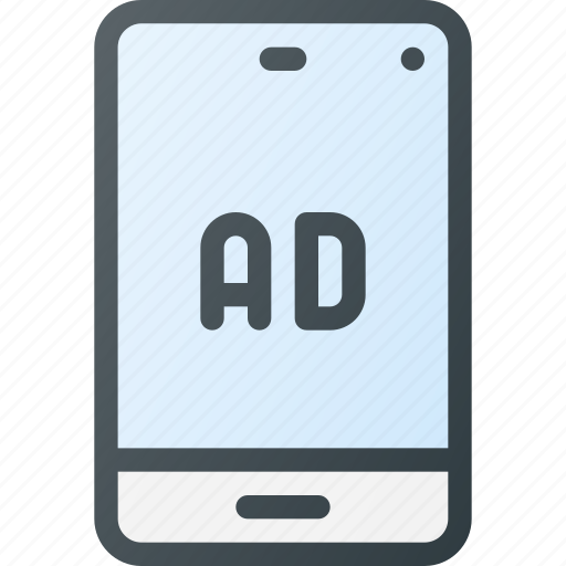 Ad, advertising, marketing, message, mobile, online icon - Download on Iconfinder