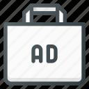 ad, advertising, bag, shop, shopping