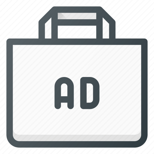 ad, advertising, bag, shop, shopping icon