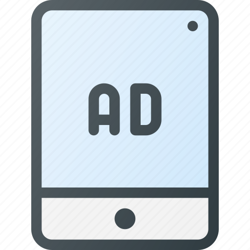 Ad, marketing, online, tablet icon - Download on Iconfinder