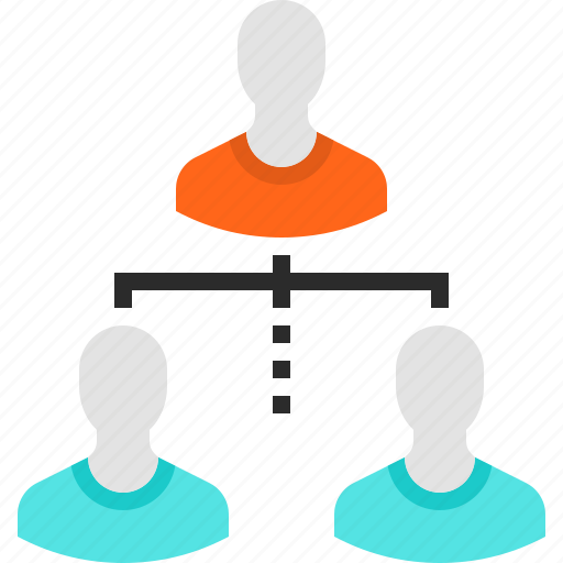 Group, hierarchy, management, organization, people, structure, team icon - Download on Iconfinder