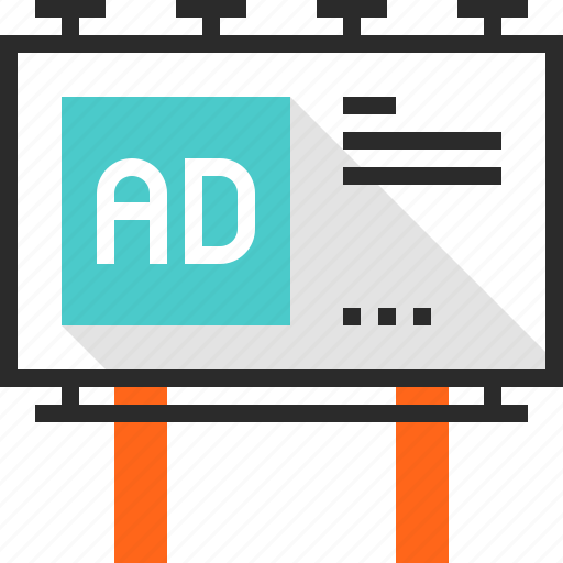 advertising, billboard, board, campaign, commercial, marketing, promotion icon