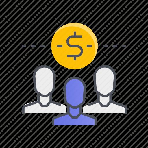 crowdfunding, finance, marketing, money icon