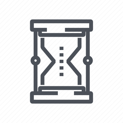 date, hourglass, sandglass, schedule, timer icon