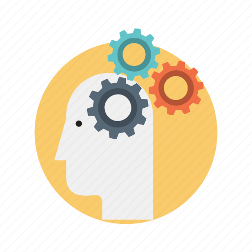 abstract, brainstorming, creative, design icon