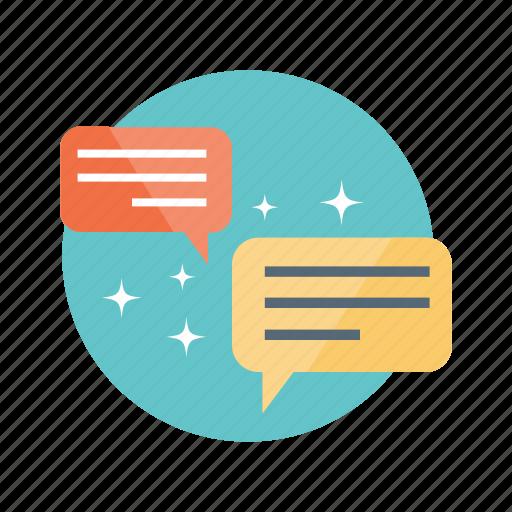 chat, communication, conversation, forum, interaction icon