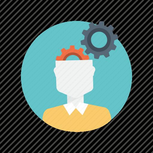 communication, creative, mobile, thinking icon