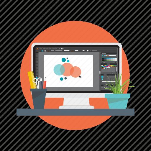 art, design, graphic, studio, tool icon