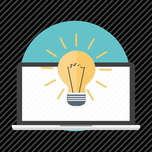 business, idea, innovation, lightbulb icon
