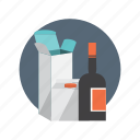 delivery, package, packaging, product, shopping icon