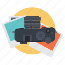 camera, digital, photo, photography icon